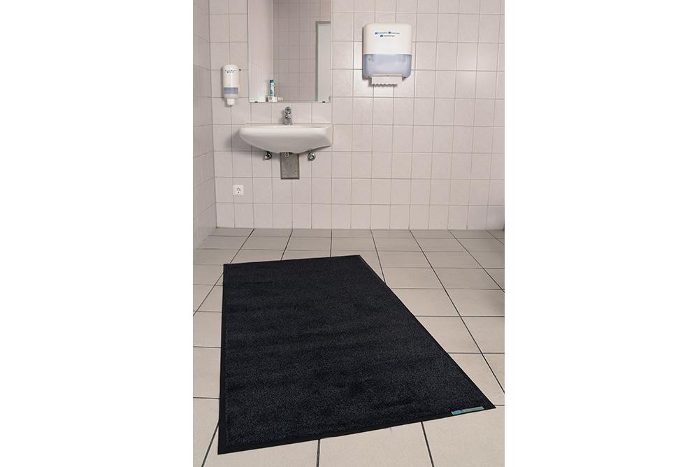 Fußmatten für die Toiletten Eingang Bild 1