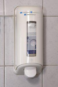 Seifenspender für Toiletten Bild 1